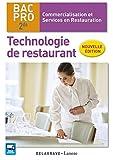 Technologie de restaurant 2de Bac Pro CSR (2016) Pochette élève by Coralie Beauvallet (2016-03-04) - DELAGRAVE - 04/03/2016