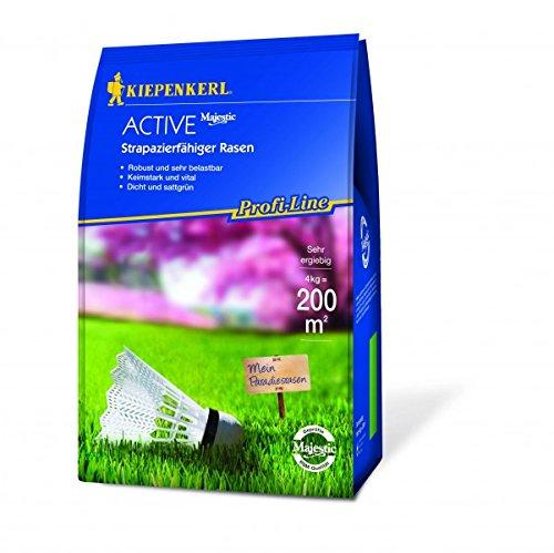 Rasensamen - Profi-Line Active - Strapazierfähiger Rasen (4 kg) von Kiepenkerl