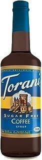 Torani Sugar Free Coffee Syrup 750mL