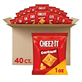 Cheez-It Original Baked Snack Cheese Crackers - Single Serve School Lunch Snacks (Case contains 40...