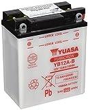 YUASA YB12A-B, bateria sin ácido