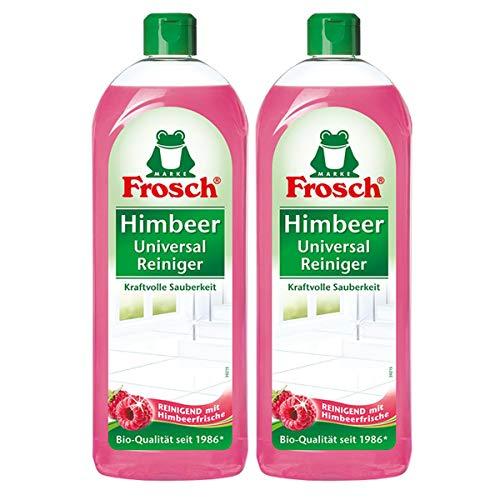 Frosch Himbeer Universal-Reiniger 750 ml - Kraftvolle Sauberkeit (2er Pack)