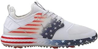 Men's Ignite Pwradapt Caged Stars and Stripes Golf Shoe