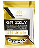 GRIZZLY's PRO -100% NATURAL WEIGHT GAINER is enriched with premium quality protein concentrate and has a perfect blend of carbohydrates, fats, and protein. It boosts the development of new muscles, faster recovery and fulfils the dietary gap Grizzly'...