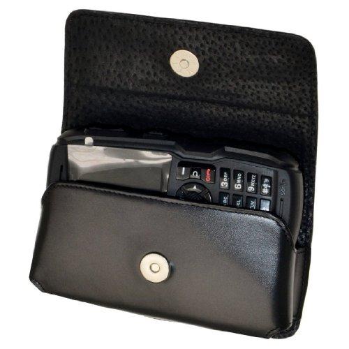 Original MTT Quertasche für / RugGear RG100 / Horizontal Tasche Ledertasche Handytasche Etui mit Clip & Sicherheitsschlaufe*