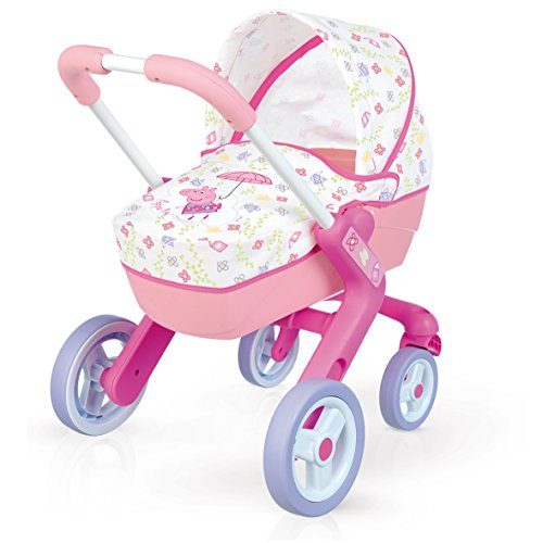 Smoby 251306 Peppa Pig Kinderwagen Pop