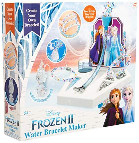 Sambro DFR2-4801 – Juego de manualidades pulseras de agua Disney Frozen II, para 12 pulseras caseras