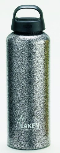 Laken Bottiglia Classic Bocca Larga, Unisex, Granite, 750 ml