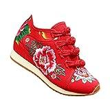 SONSYON Zapatos Tradicionales Chinos - Invierno Añadir Algodón 4 Hebillas Zapatos de Costumbre...