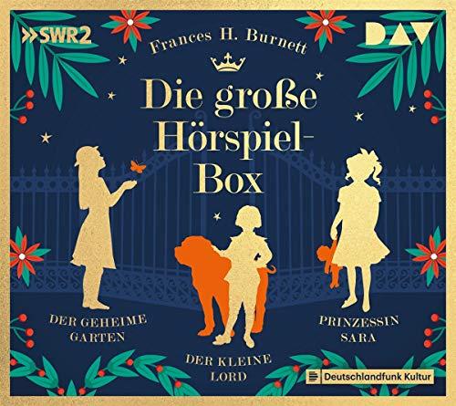 Die große Hörspiel-Box – Der geheime Garten, Der kleine Lord, Prinzessin Sara: Hörspiele mit Frank Elstner, Doris Schade u.v.a. (3 CDs)