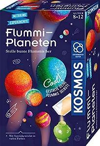 Mars, Jupiter, Venus, Saturn – mit den bunten Flummi-Planeten erschaffen Kinder ihr erstes springendes Universum! Einfach die speziellen Farbgranulate in den Planetenformen mischen oder schichten und ins Wasser stellen. Schon nach wenigen Minuten sin...