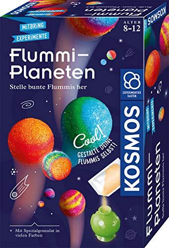 KOSMOS 657765 Flummi-Planeten, bunte Flummis selbst herstellen, coole Farbmuster selber mixen, Experimentierset, Experimentierkasten, kleines Geschenk für Kinder ab 8 Jahre