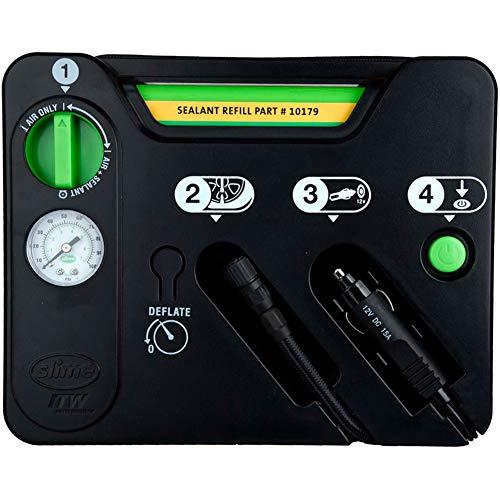 Slime 50129 Pneumatico Antiforatura, Kit di Emergenza, Contiene Sigillante e Compressore, per Auto e Altri Veicoli Stradali, Riparazione in 10 min