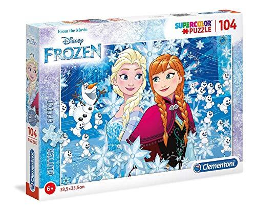Jewels puzzle frozen 104Unidades, Multicolor, 20153