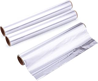 Kingrol Heavy Duty Aluminum Foil Roll, Food Safe Foil Wrap, 480 Square Feet