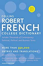 Collins Robert French College Dictionary, 8th Edition (Collins Language)