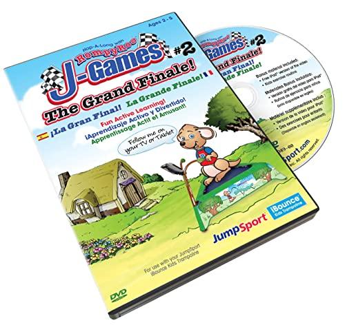 JumpSport iBounce Kids Trampoline  The Grand Finale  Episode-3 DVD