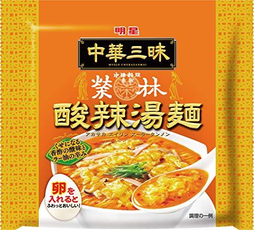 明星 中華三昧 赤坂榮林 酸辣湯麺 103g