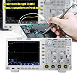 OWON XDS3204E Digital Oscilloscope 200Mhz DSO 4 Ch 1GS/S 8 BITS LCD with Touch Screen...