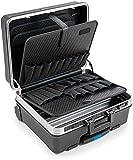 B&W Valigetta portautensili GO mobil con tasche portautensili a inserto (valigetta in ABS, volume 36l, 48 x 37,5 x 20 cm interno) 120.04/P, senza utensili