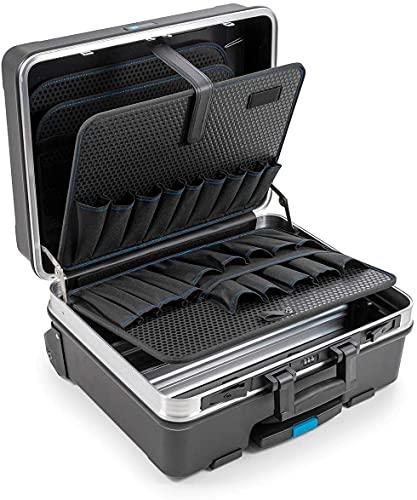 B&W Werkzeugkoffer go pockets (großes Fassungsvermögen, ideal zum Reisen; 515 x 445 x 260 mm) 120.04P