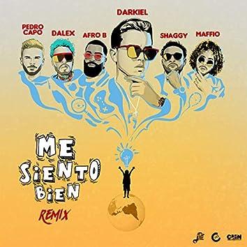 Me Siento Bien (feat. Dalex, Afro B & Maffio) [Remix]