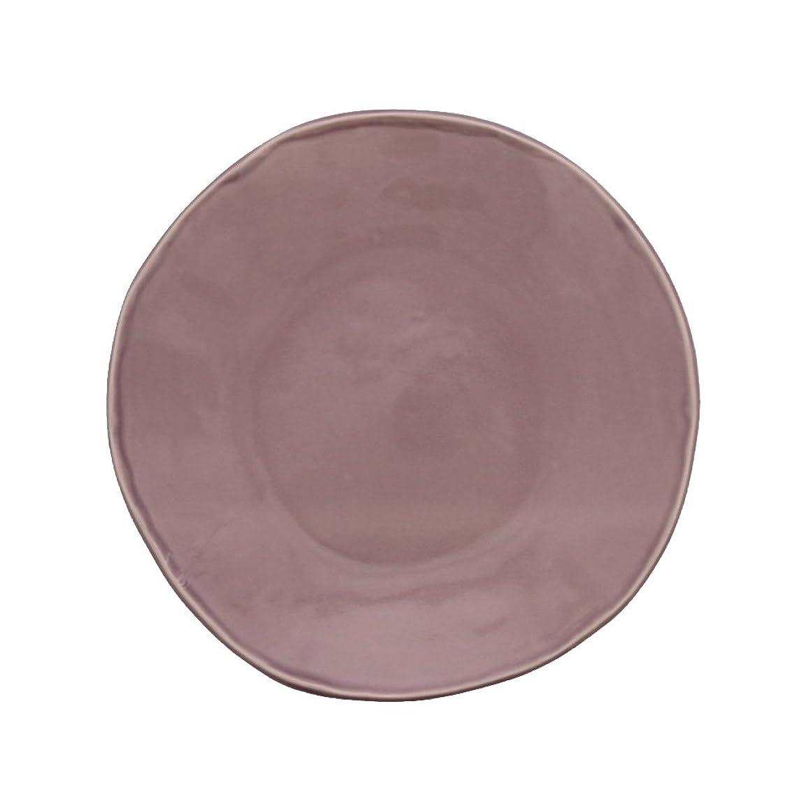 知覚するロードされた代わってEstmarc(エストマルク) 中皿 17.5cm shabby-chic プレート お皿 食器 (パープル, 中皿)