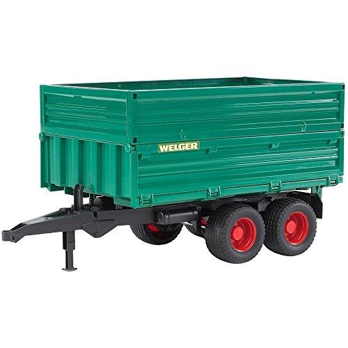 Bruder 02010 Tandemachs-Transportanhänger