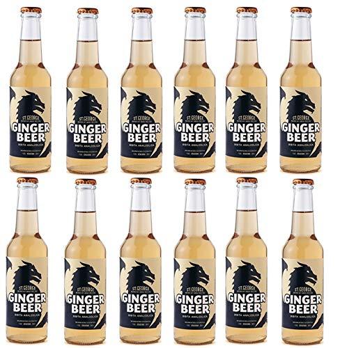 Sicilia Bedda - GINGER BEER POLARA - Bottiglie da 27,5 ML - Ideale per la preparazione del Moscow Mule - Vari Formati (12 Bottiglie)