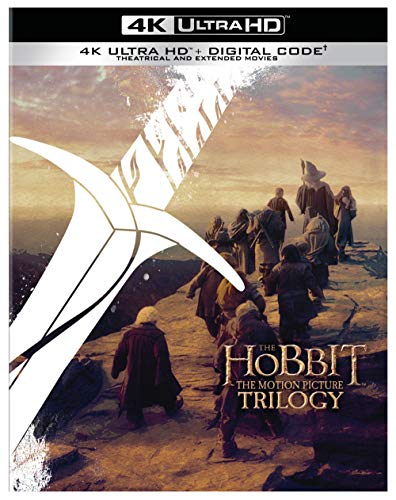 The Hobbit: Motion Picture Trilogy (Extended & Theatrical)(4K Ultra HD + Digital) [Blu-ray]