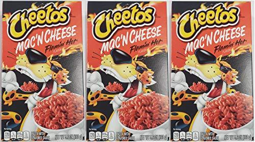Cheetos Mac N Cheese 56 oz Flamin Hot 3 Pack