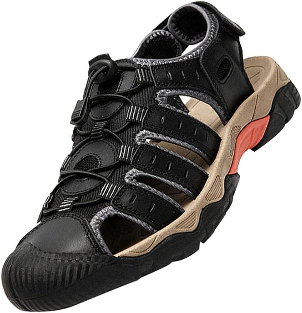 Waterproof Beach Sandals,Pen Toe Outdoor Hiking Sandals Air Cushion Sport Sandals Waterproof Beach Sandals,