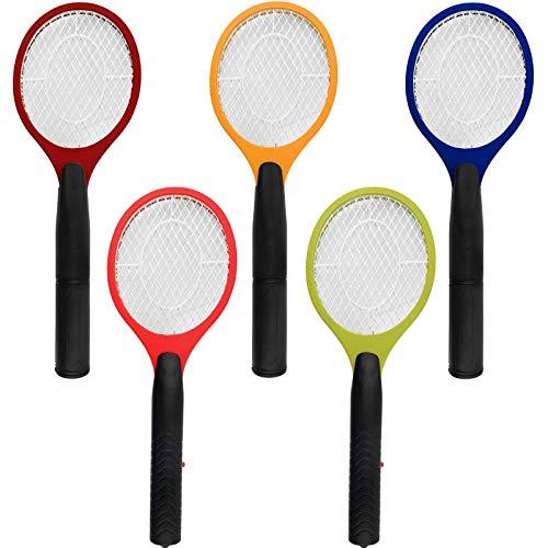 3 x Fliegenklatsche elektrisch extra Starke Mückenabwehr Fliegen Klatsche gegen Mücken Insekten und Fliegen batteriebetrieben Fliegenfänger Mückenklatsche Insektenvernichter Moskito Zapper