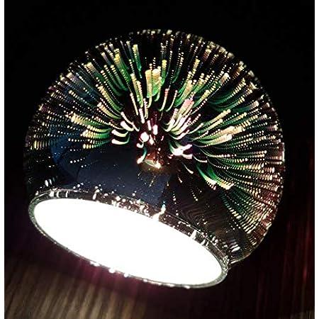 Paralume Con Effetto 3d E14 In Vetro Di Ricambio Per Lampada A Sospensione Lampada Da Tavolo Proiettore E Lampada Amazon It Illuminazione