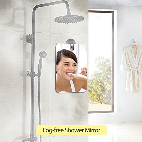 Fogless Mirror Wall Bathroom Glass Make Up Shaving Shower Fog-Free 19.814.8cm