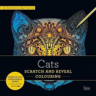 CATS: Scratch and Reveal Colouring: Colourful cards to scratch, reveal and display (A Scratch Art book)