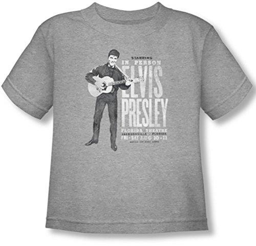 Elvis Presley - - Niño de Persona en la Camiseta, 4T, Athletic...