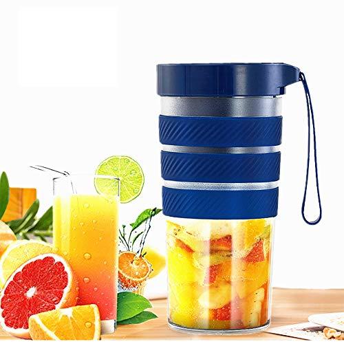 Licuadora Portátil blenders, Juicer Cup juicer Blender portátil con cable USB, Acero para Smoothies, Zumos de Fruta y Verdura, Verdura, Smoothies, Milkshake