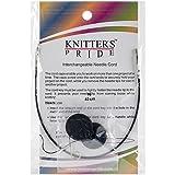 Knitter's Pride Interchangeable Cords 8' (16' w/tips), Black