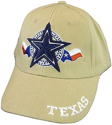 Texas Star & Circle Adjustable Baseball Cap
