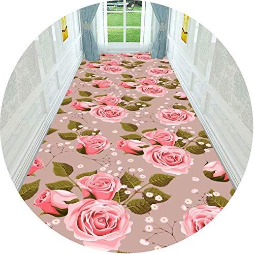 Alfombra Alfombras De Pasillo Largo Entrada Felpudos Moqueta Corredor Patrón Geométrico Apto for Porches De Casa. Múltiples Tamaños Personalizable Cocina Sala Estar Dormitorio