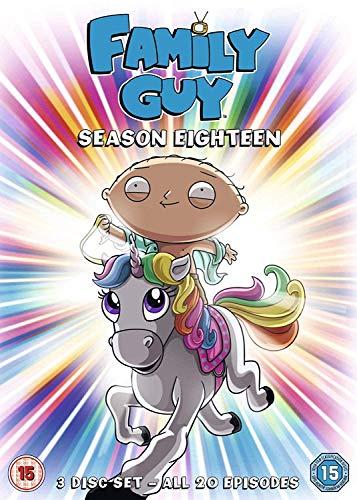 Family Guy Season 18 DVD [UK Import]