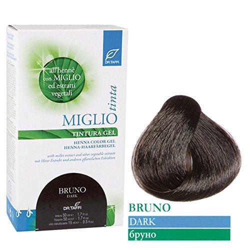 Dr. Taffi Miglio Tinta Plus (BraunSchwarz) 115ml Haarfarbe ohne Ammoniak