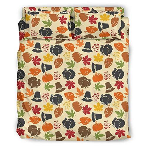 XunYun extra weich und lichtbeständig Bett-Set Luxus-Bettwäsche faltenfrei für Zuhause White 175x218cm