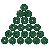 feltro per tastiera di pianoforte, feltro per tastiera di pianoforte in pura lana accessorio per strumento di pianoforte verde