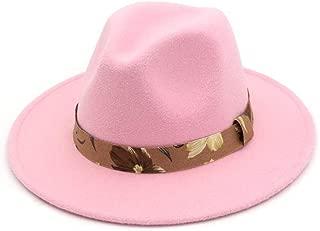 XinLin Du Fedoras Hats For Women Wide Brim Felt Hat Ladies Tweed Army Green Jazz Cap Female Leopard Winter Elegant Pork Pie Hat