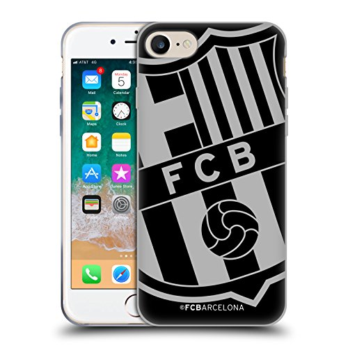 Head Case Designs Offizielle FC Barcelona Zu Gross Wappen Soft Gel Huelle kompatibel mit Apple iPhone 7 / iPhone 8 / iPhone SE 2020