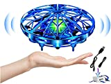 Hand Operated Drones for Kids or Adults, Mini Drone Motion Sensor Small Flying Ball Toys for Kids Gift,LED Lights, Easy Play Indoor UFO Drone for Boys Girls.