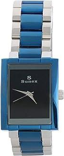 ساعة رسمية للرجال بتصميم انالوج ستانلس ستيل من سانكس - S6598PB