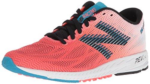 New Balance 1400v6, Zapatillas de Running Mujer, Multicolor (Vivid Coral/Black/Maldives Blue Pb6), 36 EU